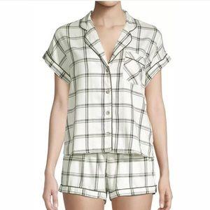 UGG Amelia Woven Plaid Women's Shorts Pajama Set